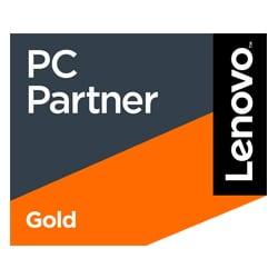 Logo Lenovo Gold Partner in Digitalisierung & Cloud Lösungen